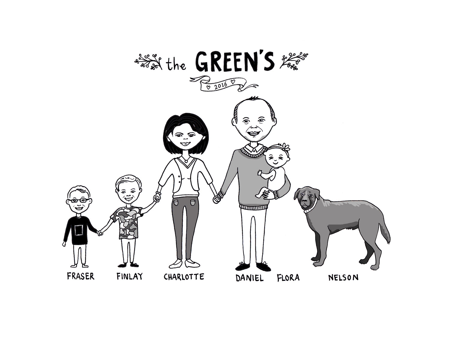 Green Family Portrait
