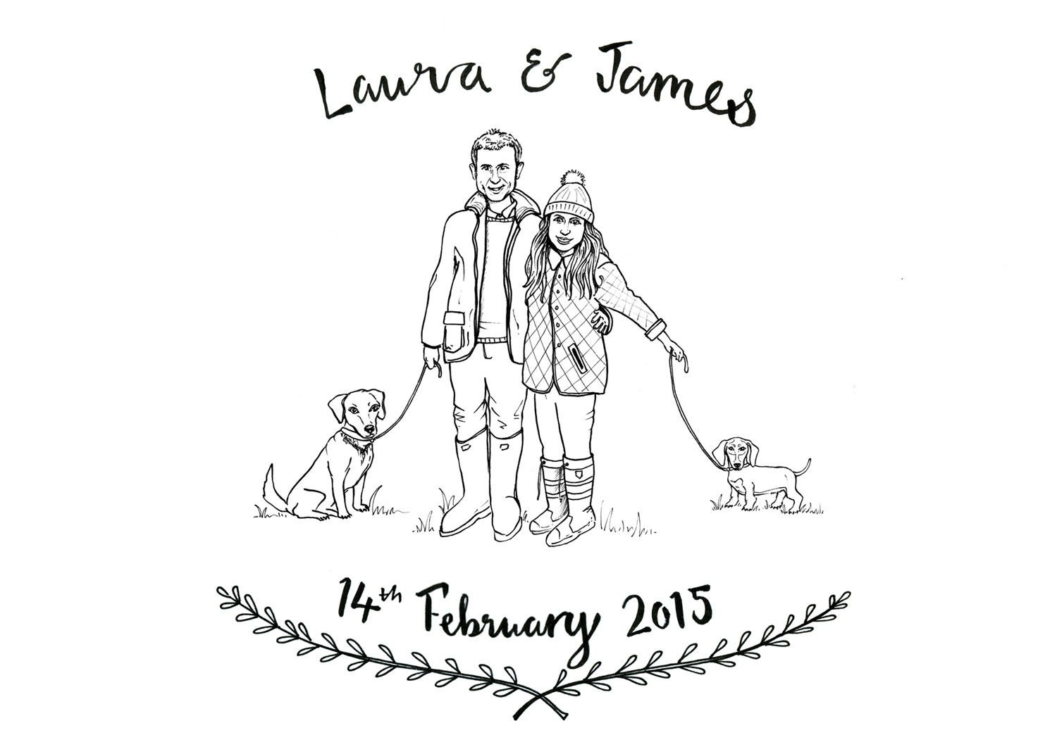 Laura and James Invitation