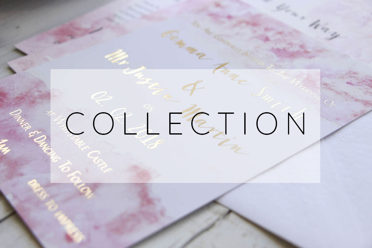 Wedding Invitations + Stationery Collection